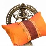 Indisches Kissen von Herz-Made